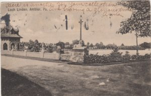 4125.102 Ambler Pa Postcard_Loch Linden_circa 1906