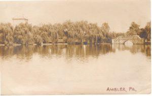 4125.105 Ambler Pa Postcard_Loch Linden_circa 1907