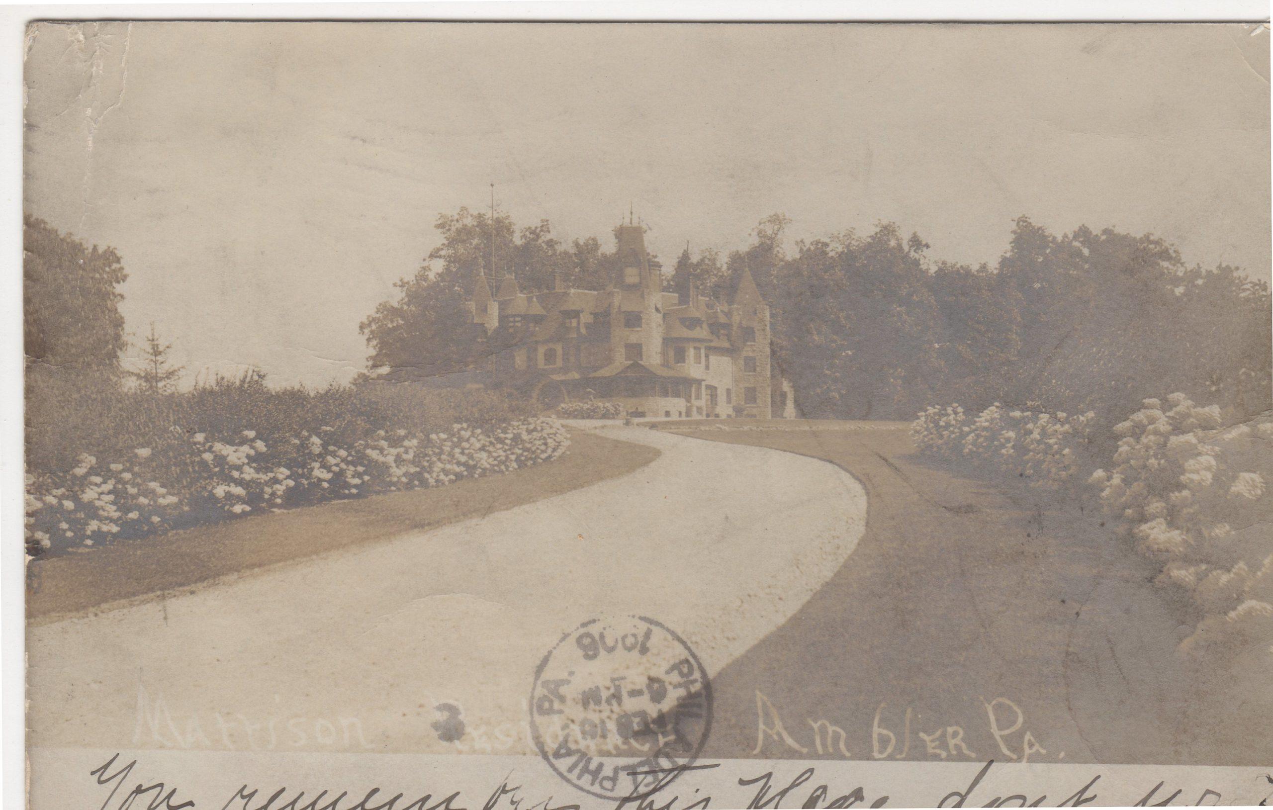 4125.106 Ambler Pa Postcard_Lindenwold_circa 1906