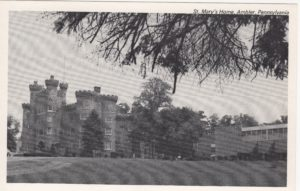 4125.112 Ambler Pa Postcard_St Mary's Home (Formerly Lindenwold) (2)