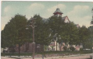 4125.2 Ambler Pa Postcard_Ambler Forest Avenue High School_circa 1910 (2)