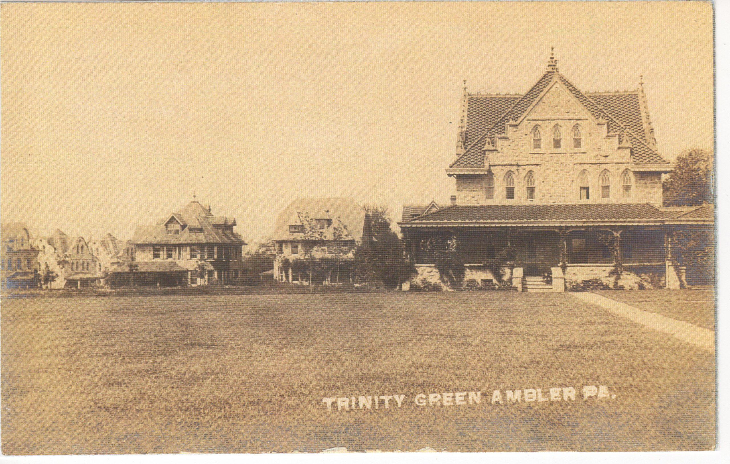 4125.24 Ambler Pa Postcard_Trinity Green