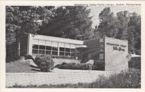 4125.25 Ambler Pa Postcard_Wissahickon Valley Public Library