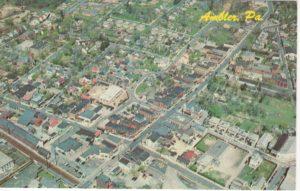 4125.26 Ambler Pa Postcard_Aerial View of Ambler