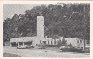 4125.30 Ambler Pa Postcard_Wissahickon Fire Co._circa 1965