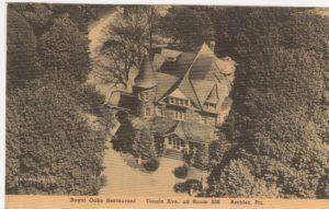 4125.42 Ambler Pa Postcard_Royal Oaks Restaurant