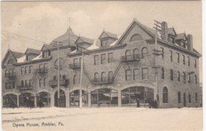 4125.46 Ambler Pa Postcard_Opera House_circa 1908