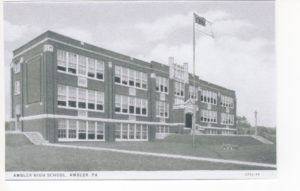 4125.5 Ambler Pa Postcard_Ambler High School