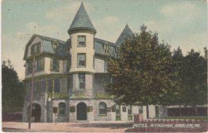 4125.54 Ambler Pa Postcard_Hotel Wyndham_circa 1909