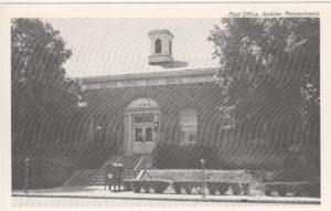 4125.60 Ambler Pa Postcard_Post Office