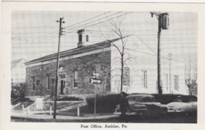 4125.61 Ambler Pa Postcard_Post Office (2)