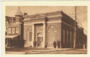 4125.66 Ambler Pa Postcard_Ambler Trust Co