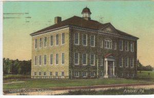 4125.7 Ambler Pa Postcard_Upper Dublin School_circa 1919