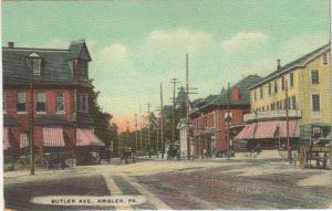4125.73 Ambler Pa Postcard_Butler Avenue (2)
