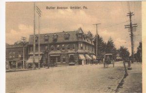 4125.74 Ambler Pa Postcard_Butler Avenue