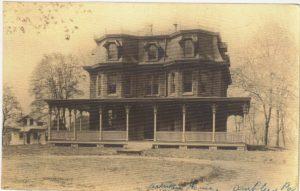 4125.76 Ambler Pa Postcard_The Artman Home_circa 1924