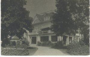 4125.78 Ambler Pa Postcard_Residence of Dr Godfrey