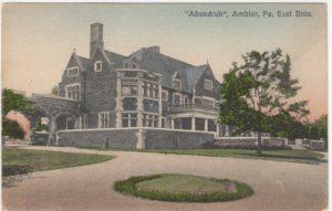 4125.83 Ambler Pa Postcard_Abendruh, Ambler, PA