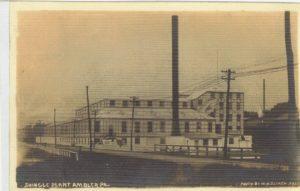 4125.84 Ambler Pa Postcard_Shingle Plant (Keasbey & Mattison