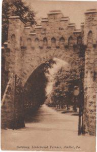 4125.87 Ambler Pa Postcard_Gateway to Lindenwold Terrace_circa 1923