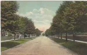 4125.88 Ambler Pa Postcard_Lindenwold Ave_circa 1912