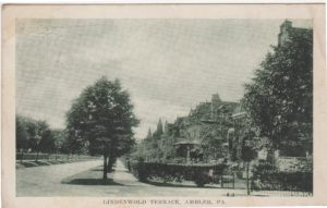 4125.91 Ambler Pa Postcard_Lindenwold Terrace_circa 1911