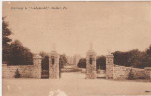4125.96 Ambler Pa Postcard_Gateway to Lindenwold_circa 1941
