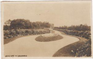 4125.98 Ambler Pa Postcard_Dirveway in Lindenwold_circa 1913