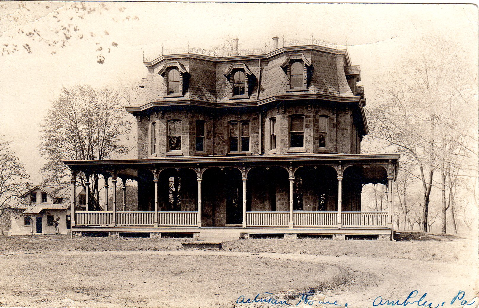 Post Card Collection (E Simon)_2682_40_Artman Home, Ambler, Pa_26 Jun 1924