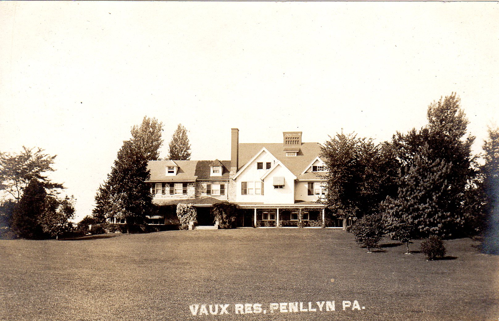 Post Card Collection (E Simon)_2682_68_Vaux Res, Penllyn, Pa