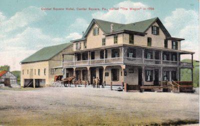 4500_001_Center Square Postcard_Center Square Hotel