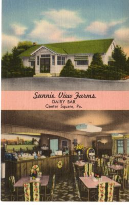 4500_009_Center Square Postcard_Sunny View Farms Dairy Bar