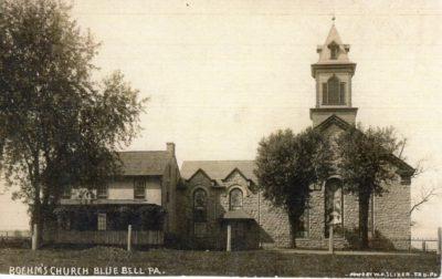4500_061_Blue Bell PA Postcard_Boehm's Church_Circa 1925
