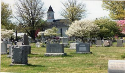 4500_063_Blue Bell PA Photograph_Boehm's United Church of Christ and Cemetery_Spring 2012