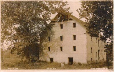 4500_073_Ft Washington PA Postcard_Ye Old Mill