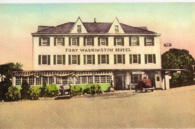 4500_078_Ft Washington PA Postcard_Ft Washington Hotel_Circa 1938
