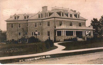 4500_082_Ft Washington PA Postcard_Residence of G Bodenstein