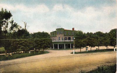 4500_084a_Ft Washington PA Postcard_Fortside Inn_Front