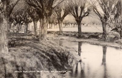 4500_090_Ft Washington PA Postcard_Sandy Run Creek