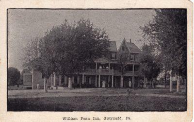 4500_227_Gwynedd PA Postcard_William Penn Inn