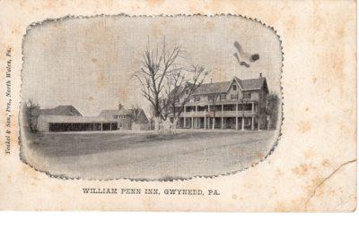 4500_231_Gwynedd PA Postcard_William Penn Inn