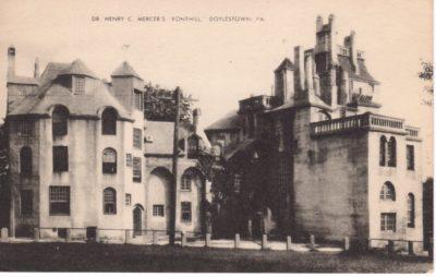 4500_291_Doylestown PA Postcard_Dr Henry C Mercer's Fonthill