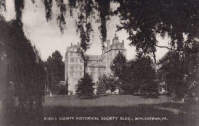 4500_292_Doylestown PA Postcard_Bucks County Historical Society Building
