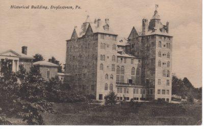 4500_293_Doylestown PA Postcard_Bucks County Historical Society Building